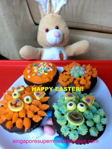 Happy Easter cupcakes ideas