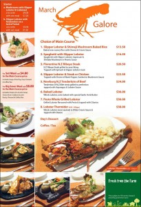 Jack's place lobster galore promotions