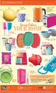 Robinsons Spring Colors your Home Promotions