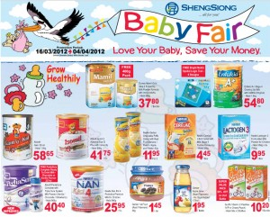 Sheng Shiong Supermarket Promotions Baby Products