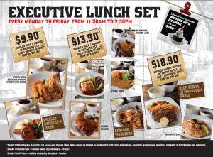 breeks lunch set promotions