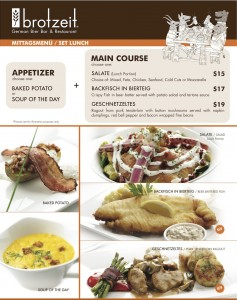 brotzeit german bier bar & restaurant set lunch promotions