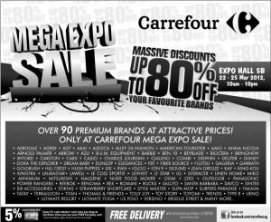 carrefour mega expo sale promotions