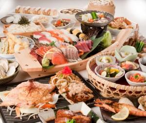 chiso zanmai japanese buffet restaurant offerings