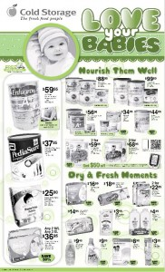cold storage baby fair promotions
