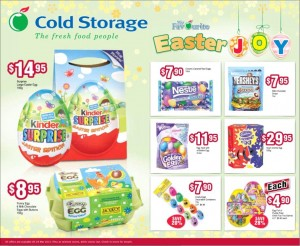cold storage easter supermarket prmotions