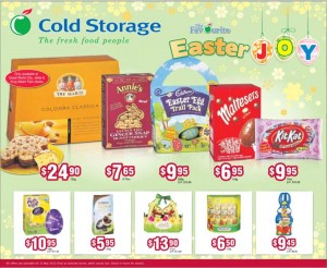 cold storage easter supermarket promotions
