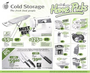 cold storage home picks supermarket promotions