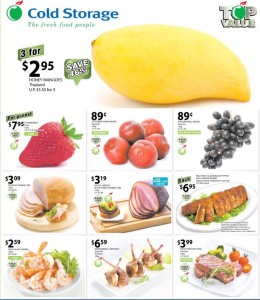 cold storage top value supermarket promotions