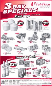 fairprice 3 day specials promotions