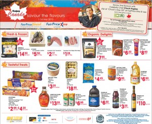 fairprice enjoy canada  supermarket promotions