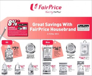 fairprice house supermarket promotions