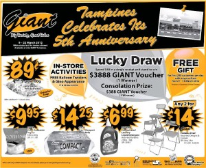 giant supermarket promotions lucky draw