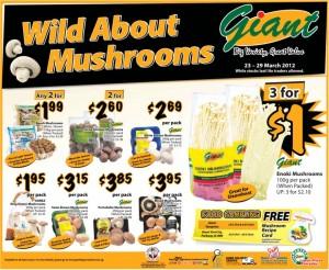 giant wild mushrooms supermarket promotions
