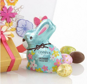 godiva easter chocolate