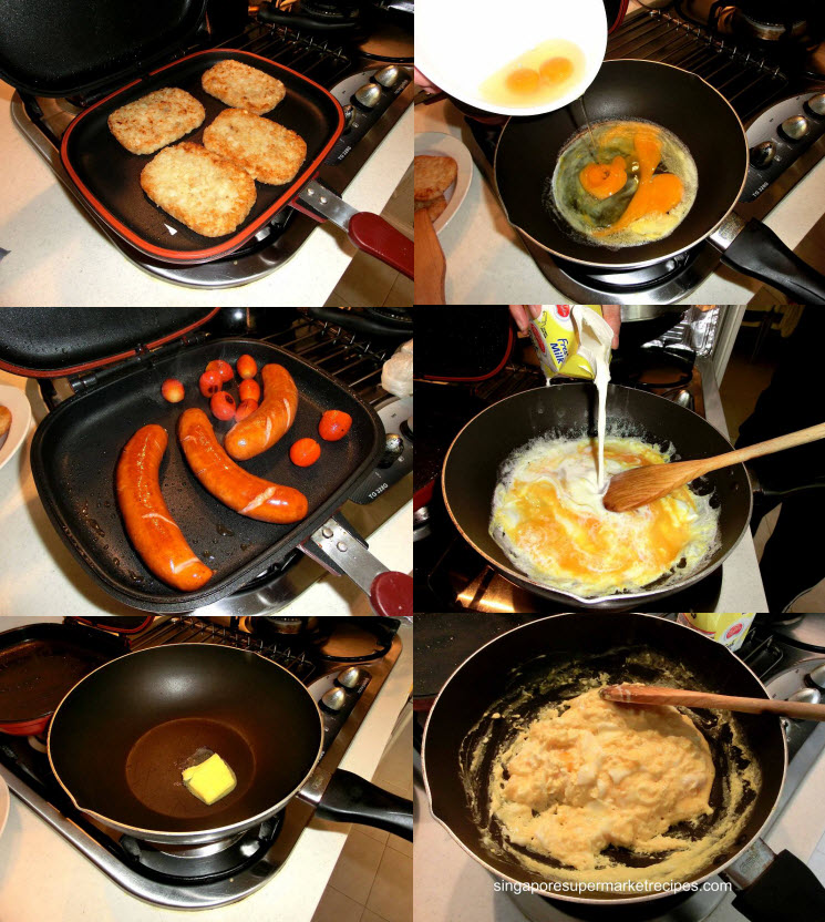 happypan breakfast feast