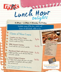 nydc lunch hour delights promotions
