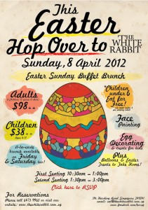 rabbit hole easter buffet promotions