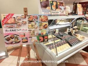 Hokkaido Spring Food Fair at Takashimaya