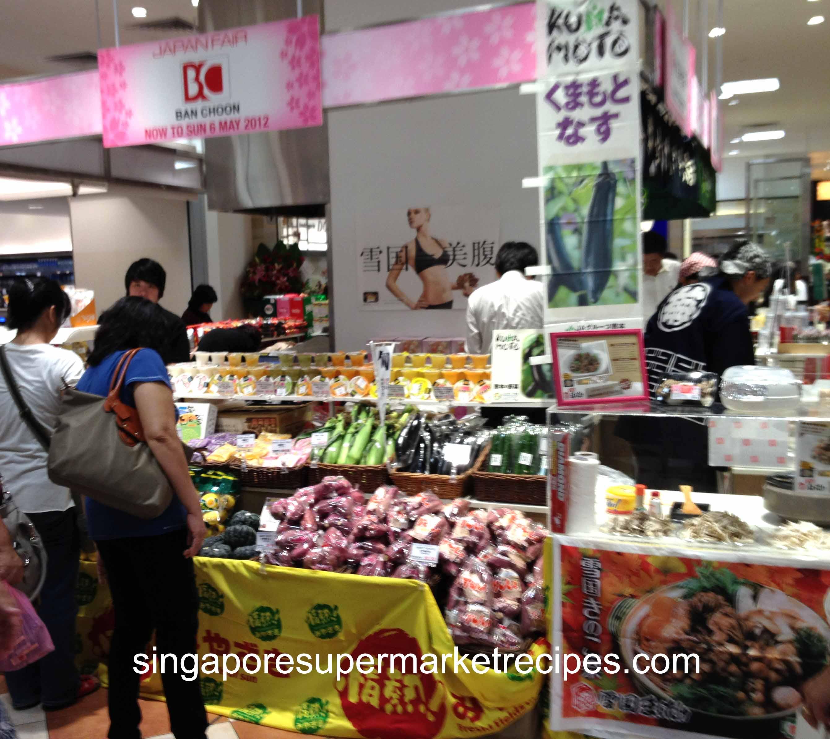 Japan Food Fair  Singapore
