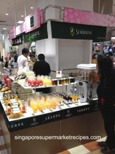 Japan Fair at Takashimaya fruit juice