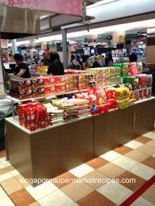 Japan Fair at Takashimaya snacks
