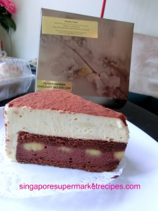 Goodwood park durian Fiesta Durian Banana Chocolate Mousse Cake
