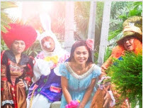 Alice in Wonderland at Fort Canning Country Club The Glass House