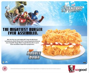 KFC Avengers Burger
