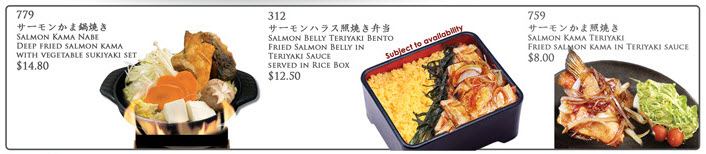MOF salmon belly promotions