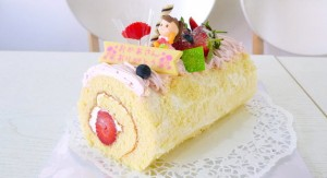 cake flor mother's day swiss roll