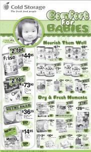 cold storage comfort for babies supermarket promotions