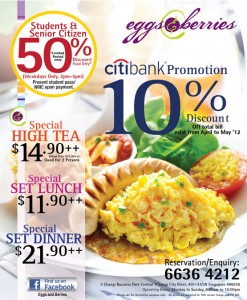 eggs & berries dining promotions