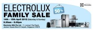 electrolux family sale 2012