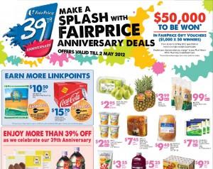faiprirce anniversary deals supermarket promotions