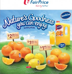 fairprice sunkist supermarket promotions