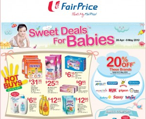fairprice supermarket promotions sweet baby deal