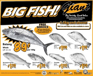 giant big fish supermarket promotions