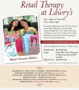 lawry mother's day dining promotions