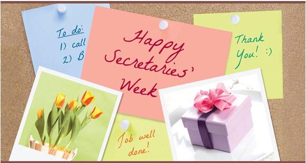 secretaries week dining promotions