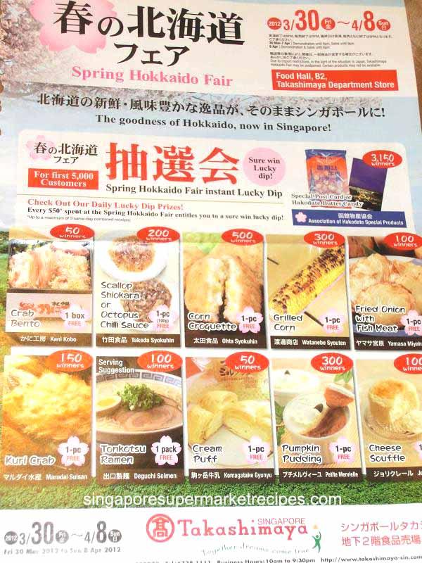 Good Food At Takashimaya