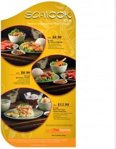 thai express sanook set