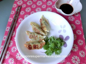 Cooking Gyoza with Happycall Pan