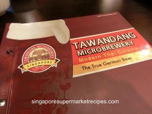 Tawandang Microbrewery at Suntec