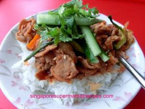 Spicy Korean Pork Rice with CJ Beksul Korean BBQ Sauce