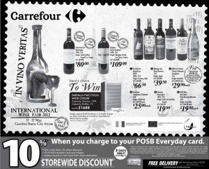 Carrefour Wine Supermarket Promotions