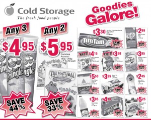 Cold Storage Titbits Supermarket Promotions