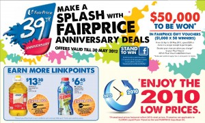 Faiprice 39th Anniversary Supermarket Promotions