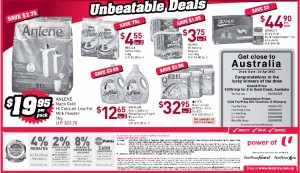 Fairprice 3 days specials  supermarket promotions