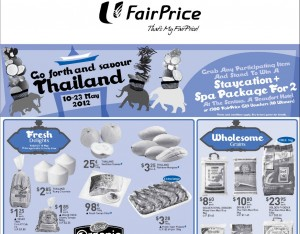 Fairprice Thailand Supermarket Promotions